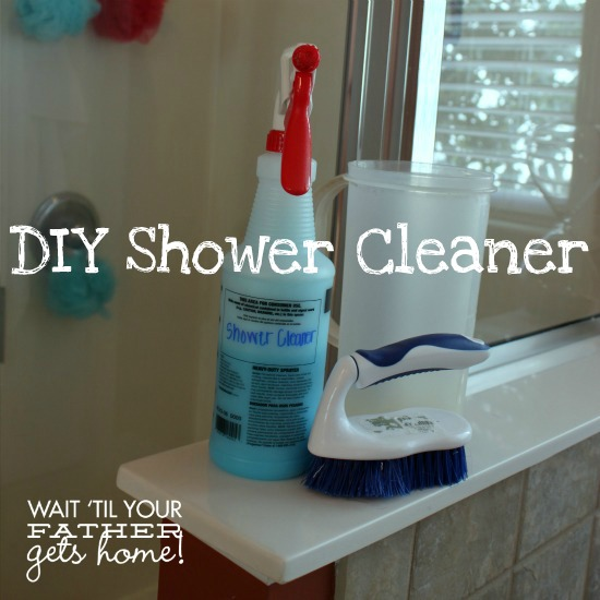 Diy shower cleaner - Homemade bathroom cleaner with dawn ...