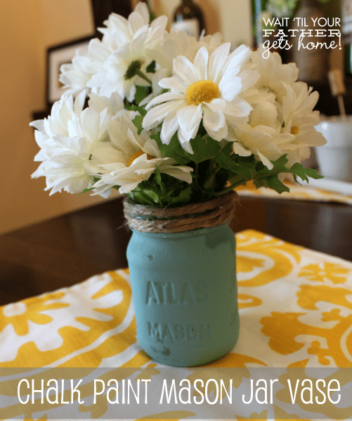 Chalk Paint Mason Jar