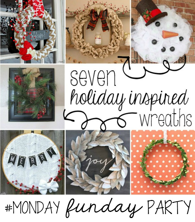 31 Christmas Crafty Ideas MONDAY FUNDAY Link Party