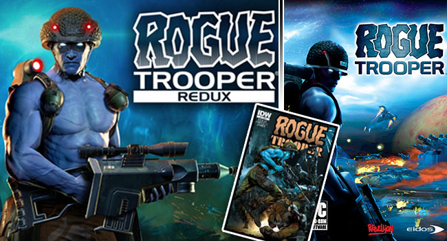 Rogue Trooper over the years