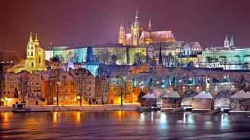 Praga wieczorem