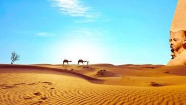 Pustynia w Egipcie