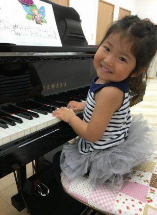 ピアノレッスン年少さん