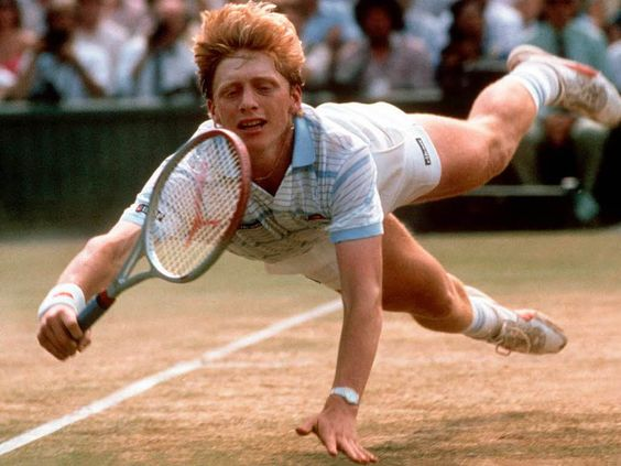 Boris Becker's attacking style of tennis based around a massive serve and dramatic diving volleys defined men's tennis for years and is still emulated on court today.