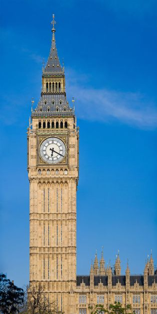 Big Ben is really the biggest of the 5 bells that rings out the the hours but has become synonymous with the clock! The other 4 bells are used to sound introduction to the hour chimes and to sound the quarters hours.