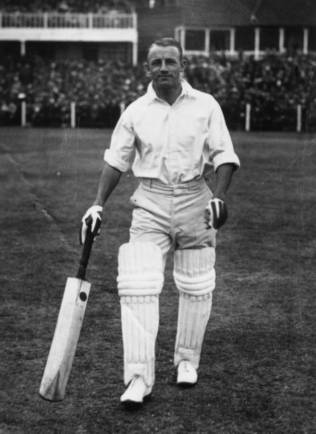 On 24th May 1930 the world's greatest cricketer Donald Bradman scored 252 runs at the Oval in the 8th match of the Australian's tour against Surrey in 290 minutes including 29 fours!