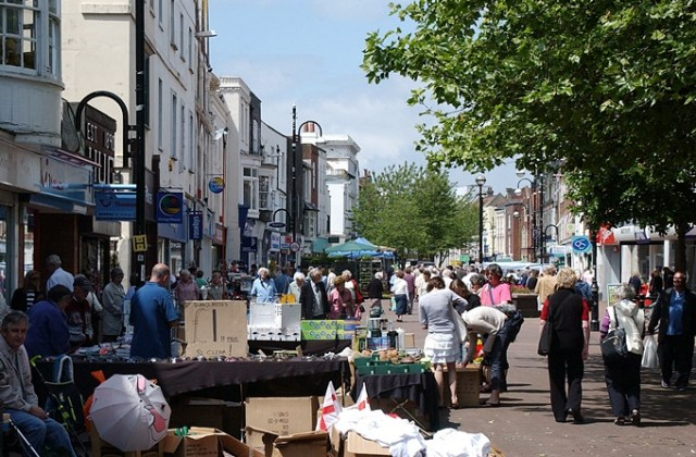 Gosport Market operates twice a week, on Tuesdays and Saturdays and is situated in Gosport High Street between the best view of Portsmouth Harbour and the award-winning Discovery Centre, Gosport Markets offer up to sixty stalls with something for everyone.