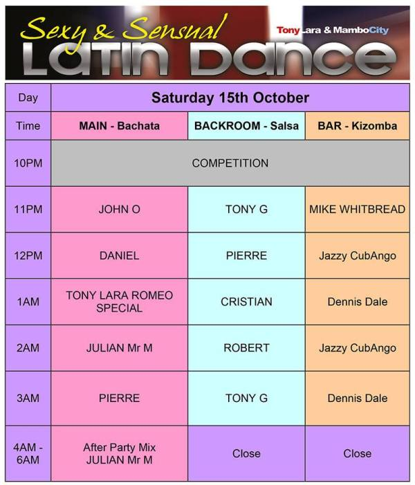 Sexy Sensual Latin Dance Festival - Saturday Party Night at Park Inn By Radisson Heathrow, Bath Road, UB7 0DU West Drayton, Hillingdon