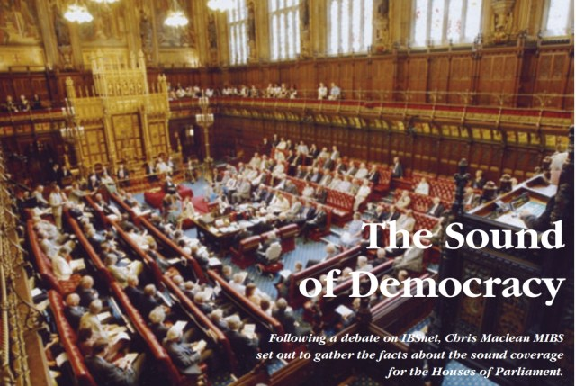 The Sound of Democracy: In 1923 John Reith requested permission to allow microphones in the Houses of Parliament at the King's speech at the Sate Opening of Parliament. His request was turned down and it wasn't until this day on 9th June 1975 that microphones were actually allowed!