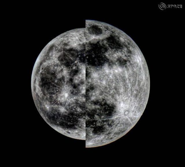 Supermoon perigee full moon apogee