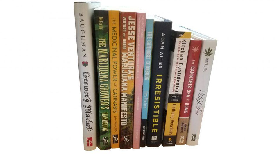 Forbes Chooses Some Weed Xmas Gift Books For Us