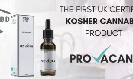 Don't Fear It's Here.. Kosher CBD Oil
