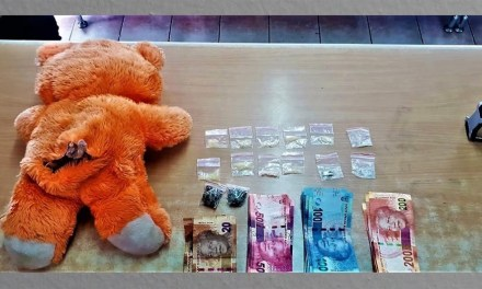 Nigerian Dealer Hides The Weed In A Teddy Bear