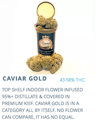 Caviar Gold Is Top Product, Apparently