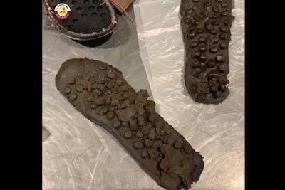 Qatar Smuggler Sussed Out With Hash In The Soles Of His Shoes