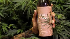 I'll have a bottle of the Rebel Coast Please. Cannabis Wine .. Is  It Repulsive ?