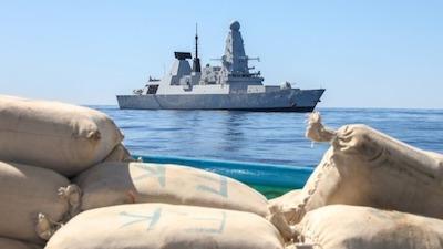 HMS Defender Seizes 2.5 Tonnes of Hashish in Indian Ocean