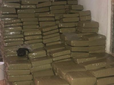 Jamaican $35-million brick-weed bust prompts a lot of questions. Mainly, who's still buying brick weed?