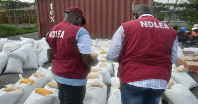 Nigeria:NDLEA dismantles Marijuana Oil Laboratory in Victoria Island Lagos