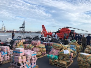Us Coast Guard Say They Have Seized Cannabis & Cocaine Worth $US438.5 Million
