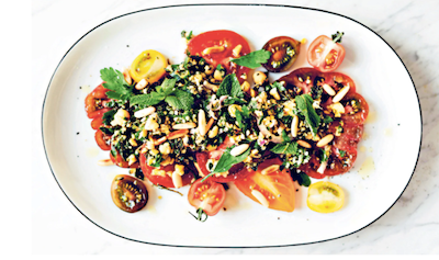 Hemp tabbouleh recipe