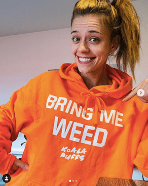 Weed Influencer In The US Goes By The Name of Koala Puffs