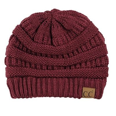 C.C. Trendy Warm Chunky Soft Stretch Cable Knit Beanie Skully-Best Beanies