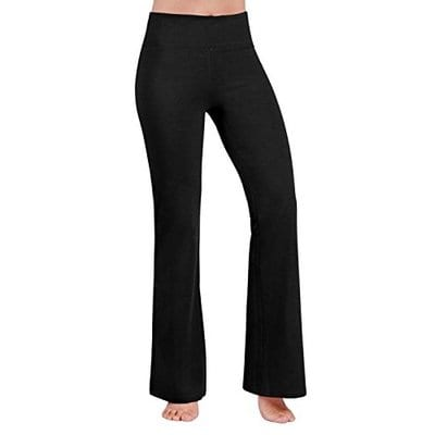 ODODOS Power Flex Boot Cut Yoga Pants Tummy Control-Best Yoga Pants