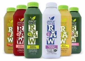 RAW™ ORGANIC COLD PRESSED JUICES