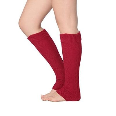 Isadora Paccini Cable Knit Leg Warmers-5 Best Leg Warmers