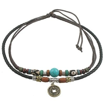 Ancient Tribe Hemp Genuine Leather-5 Best Hemp Necklaces