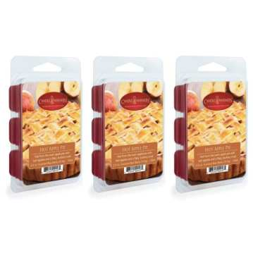 Candle warmers etc 2.5 oz wax melt 3-pack, hot apple pie
