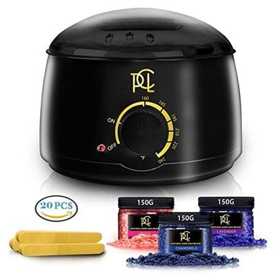 Pure Clean Love Home Waxing Kit-5 Best Wax Warmers
