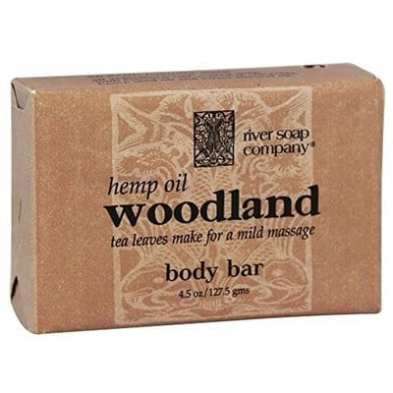River Soap Company Hemp Oil Woodland Triple Milled-5 Best Hemp Soaps