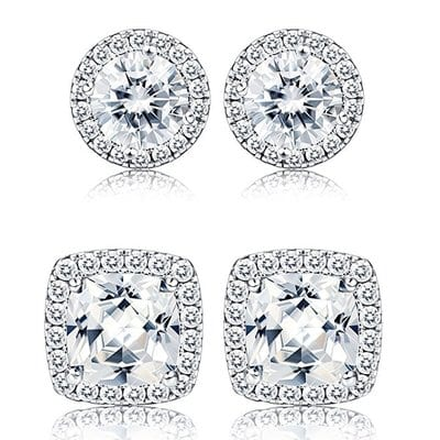 Thunaraz Halo Stud Earrings For Men-5 Best Earrings for Men and Women