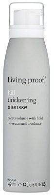 Best Hair Products For Men - Living proof Full Thickening Mousse