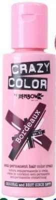 Best Semi-Permanent Hair Dyes -Crazy Color Bordeaux 51 Semi-Permanent Liquid Cream Hair Colour Dye