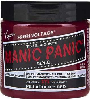 Best Semi-Permanent Hair Dyes -Manic Panic Pillarbox Red Hair Dye