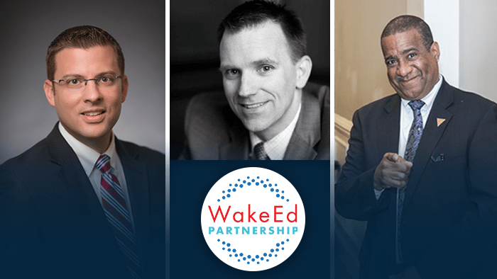 Triangle Business Leaders Join WakeEd Partnership Board of Directors; UNC REX Healthcare CFO Andy Zukowski Elected Board Chair