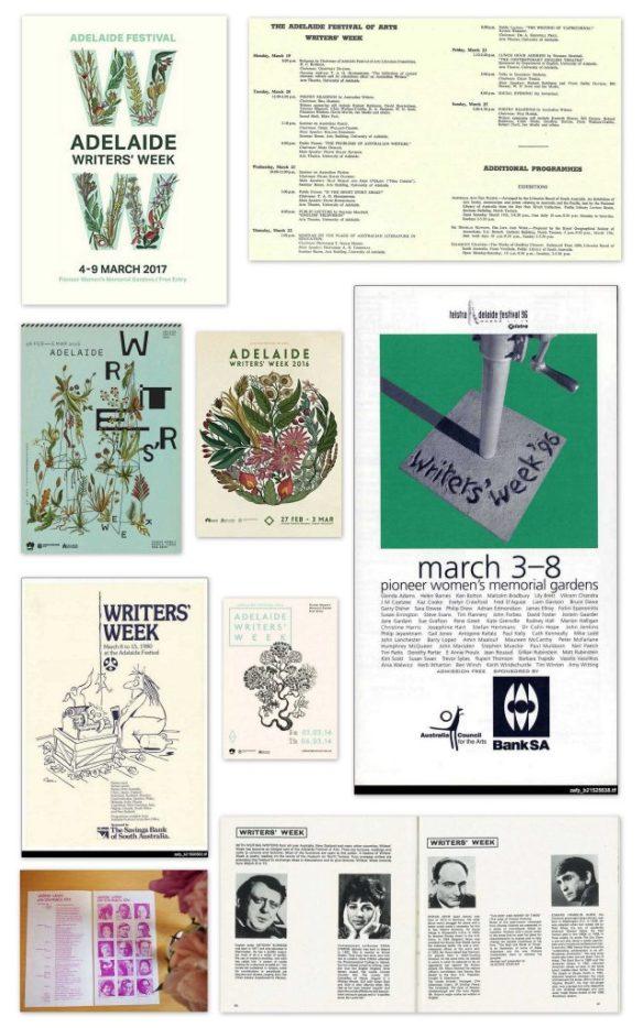 Adelaide Writers' Week programs