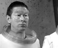 Ed Pegge as Meeker in Dr Who