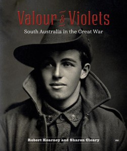 cover of Valour and Violets by Robert Kearney and Sharon Cleary
