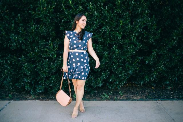 Polka Dot Dress - Waketon Road Blog-11