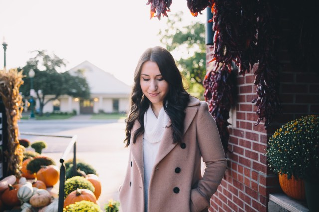 The Classic Camel Coat on Waketon Road Blog
