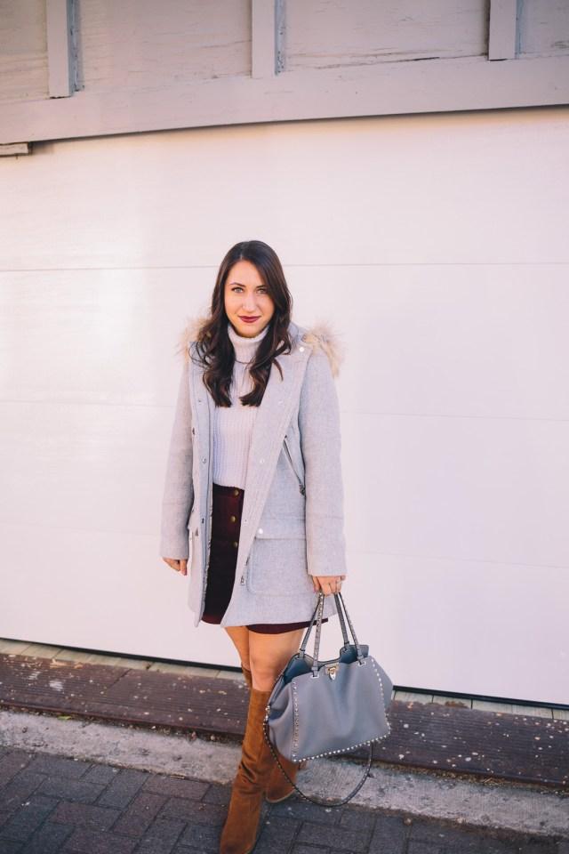 Winter is Coming - Waketon Road Blog wearing J.Crew coat