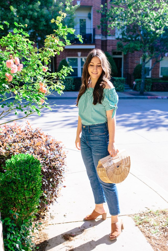 Must Have - Off the Shoulder on Waketon Road wearing J.Crew