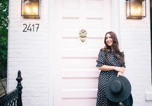The Loveliest Polka Dots on Waketon Road