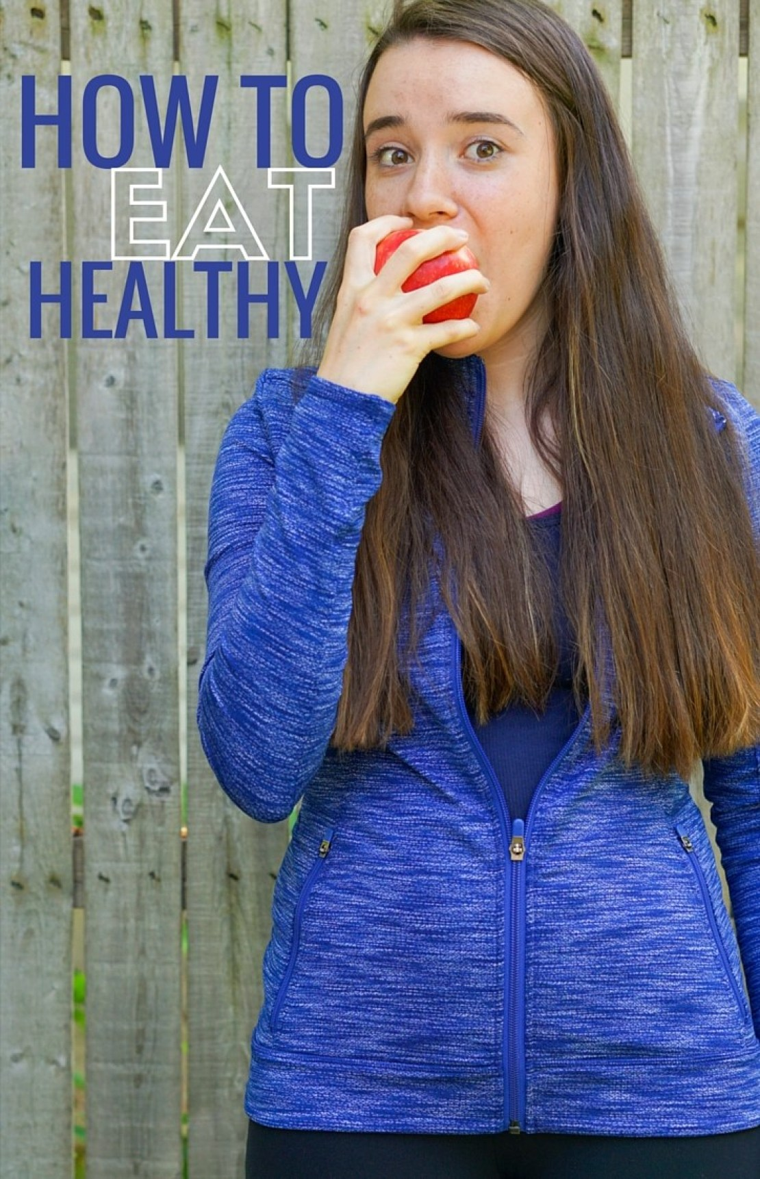 How to Eat Healthy - Just follow these easy steps and learn a few tips and tricks to eat healthier | www.wakeuptowaffles.com