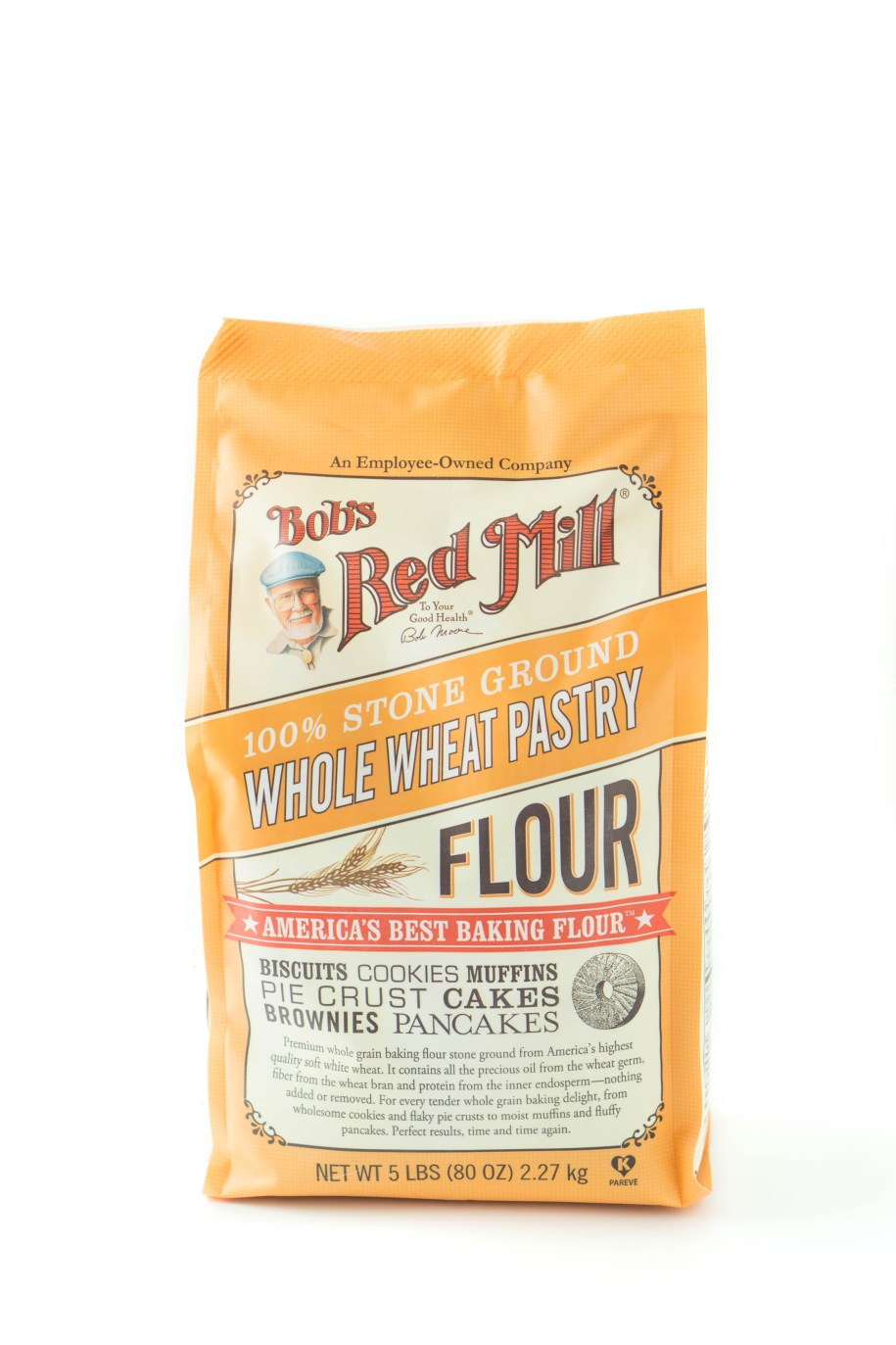 Bob's Red Mill Stone Ground Whole Wheat Pastry Flour - for healthy holiday baking mixes! www.wakeuptowaffles.com