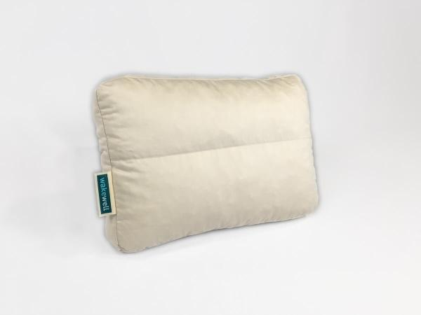 The WakeWell Zoned Adjustable Pillow - Travel Size